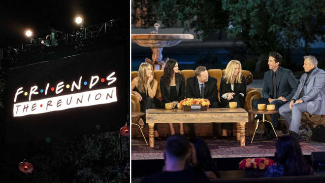 What time is the Friends reunion on?