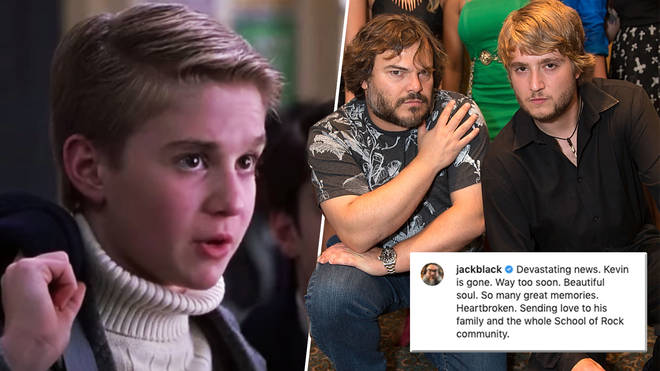 Jack Black has shared an emotional tribute to his former co-star