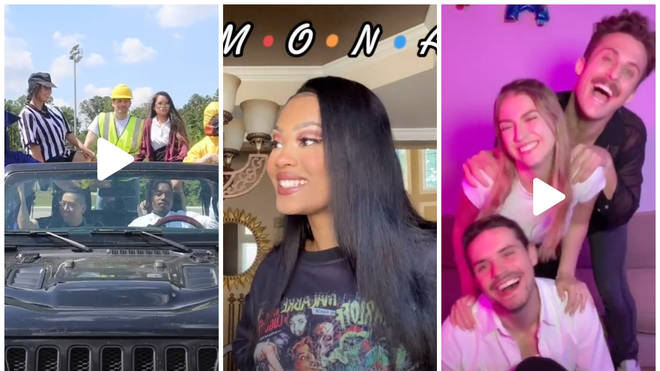 TikTok users are re-creating the Friends opening credits to celebrate the reunion