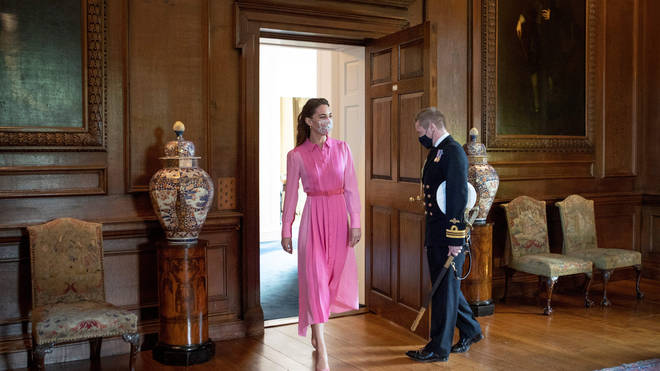 Kate Middleton was delighted to finally meet Mila, who appeared in her photography book Hold Still