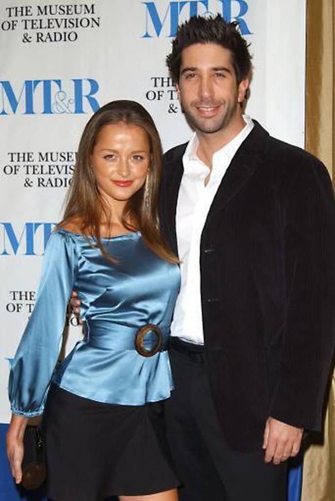 David Schwimmer dated Cara Alapont