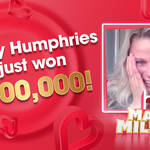 We made Shelley a Millionaire, live on Heart!