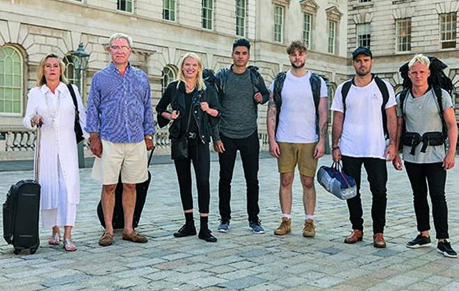 Celebrity Hunted is a spin off of the original Channel 4 series