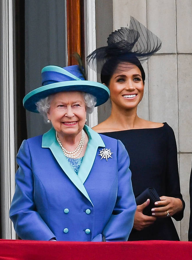 The Queen reportedly warned Prince Harry over Meghan's behaviour ahead of the wedding