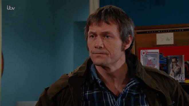 Bill Ward played James Barton in Emmerdale