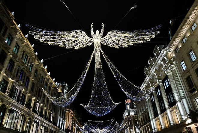 Regent Street's lights are dubbed The Spirit Of Christmas