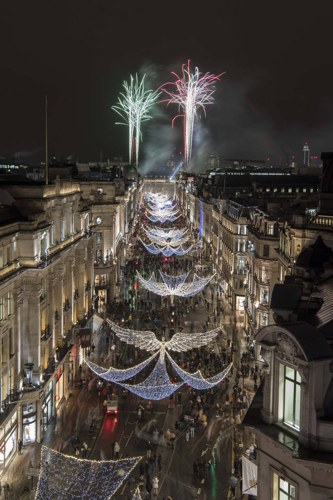The switch-on ceremony on November 15th will get all of London in the Christmas spirit