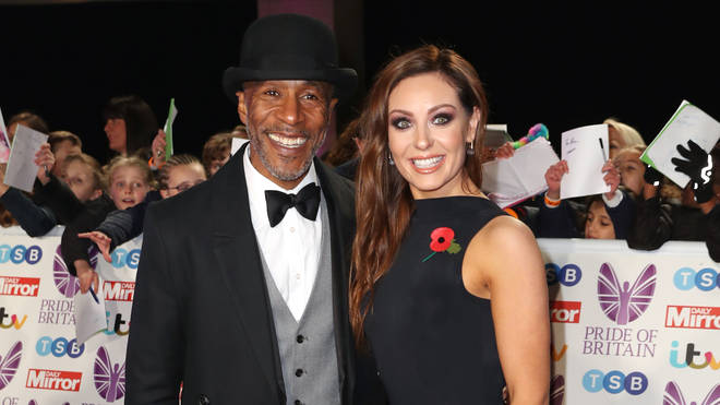 Danny John-Jules is partnered with Amy Dowden on Strictky