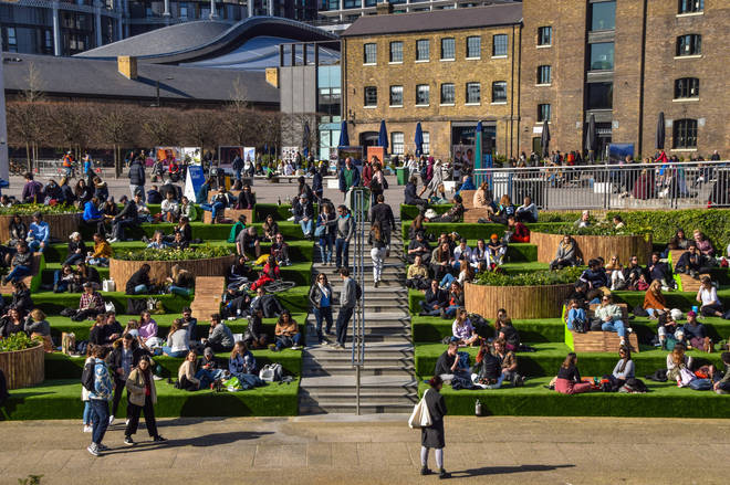 Millions of people enjoyed the sun over the Bank Holiday weekend