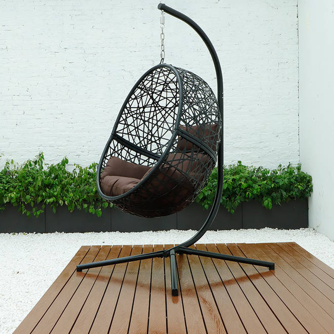 Imagine getting lost in a good book while cocooned in this!