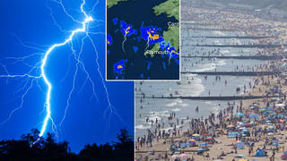 Thunderstorms are set to hit Britain