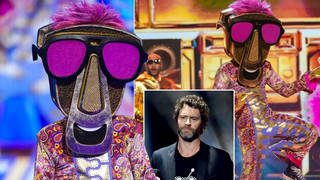 Masked Dancer fans think Howard Donald is the zip