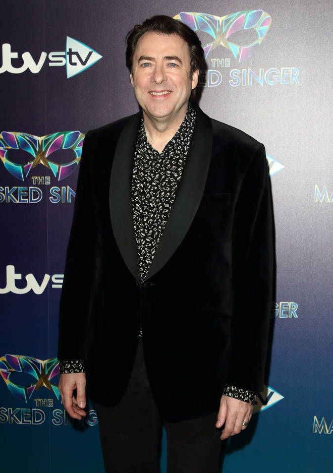 Jonathan Ross is starring on The Masked Dancer
