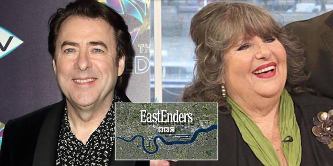 Jonathan Ross' mum was on EastEnders