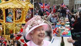 Brits are set for a four-day celebration next year to mark 70 years of the Queen's reign