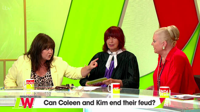 Coleen Nolan and Kim Woodburn came to blows on Loose Women