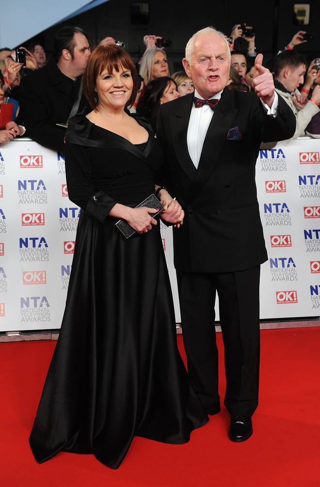 Chris is married to his Emmerdale co-star Lesley Dunlop