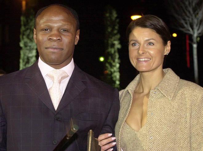 Chris Eubank and his ex-wife Karron