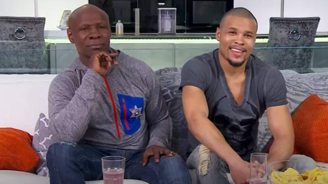 Chris Sr and Chris Jr are on Celebrity Gogglebox
