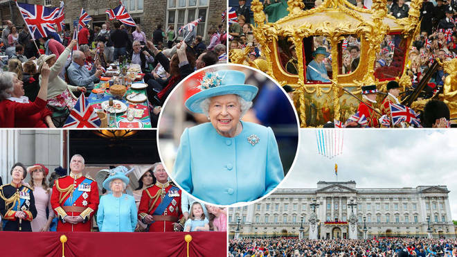 The Queen's Platinum Jubilee will be marked with a long Bank Holiday weekend of celebrations