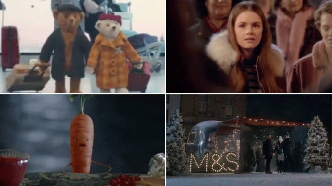 Christmas adverts of 2018 have taken over our TV screens already