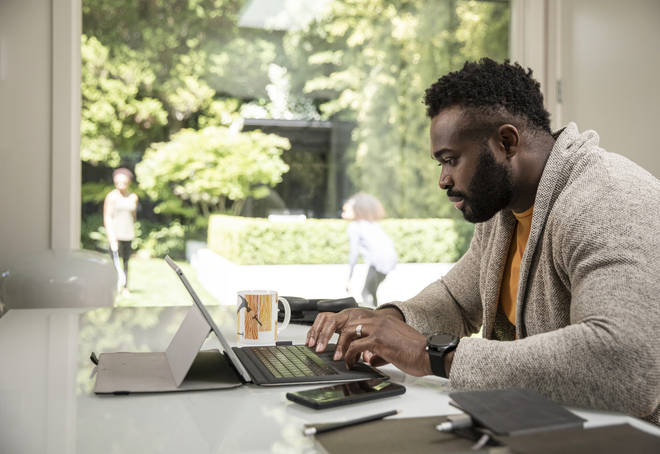 It has been reported that the work from home advice could continue past June 21 (stock image)
