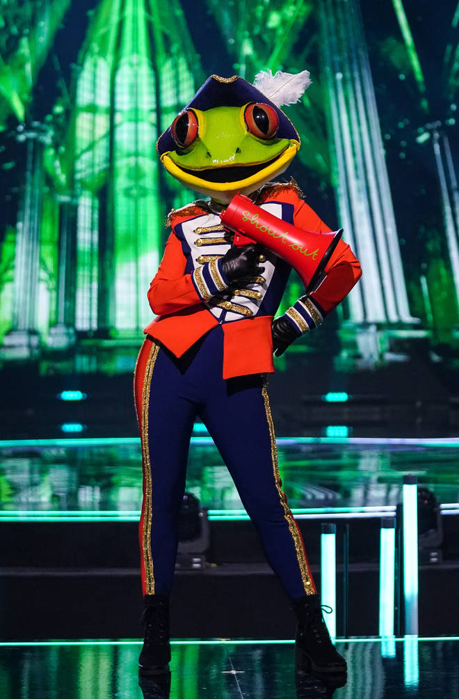 Frog will perform in Friday's semi-final