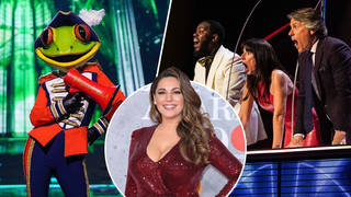 Kelly Brook was unmasked as the Frog!