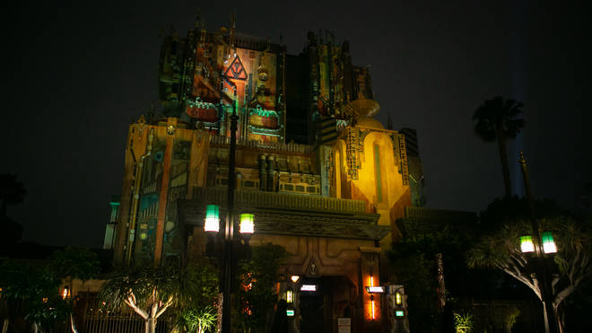 The Guardians of the Galaxy ride is one of the attractions found at Avengers Campus