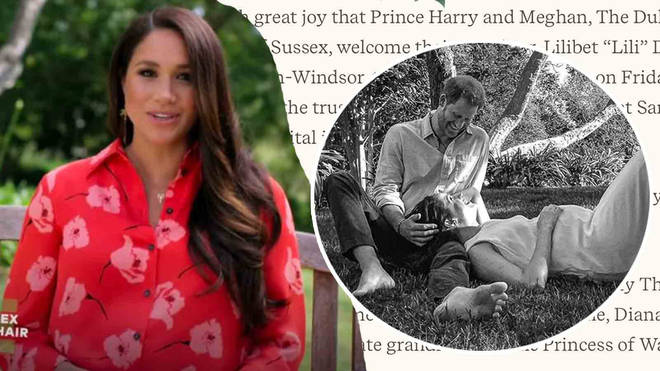 Meghan Markle has given birth to a healthy baby girl