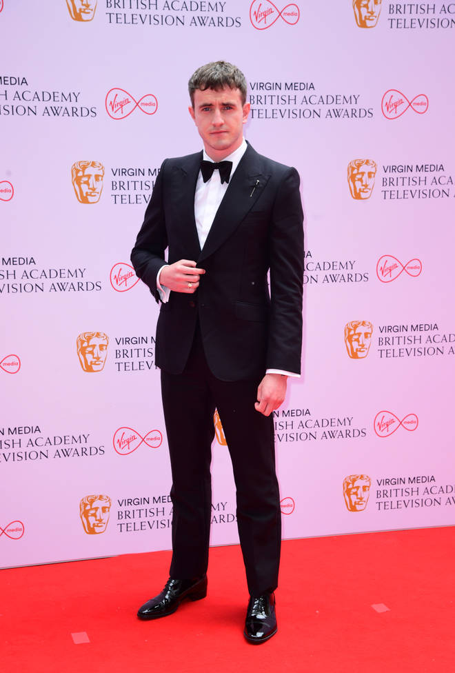 Paul Mescal won a Bafta for best actor