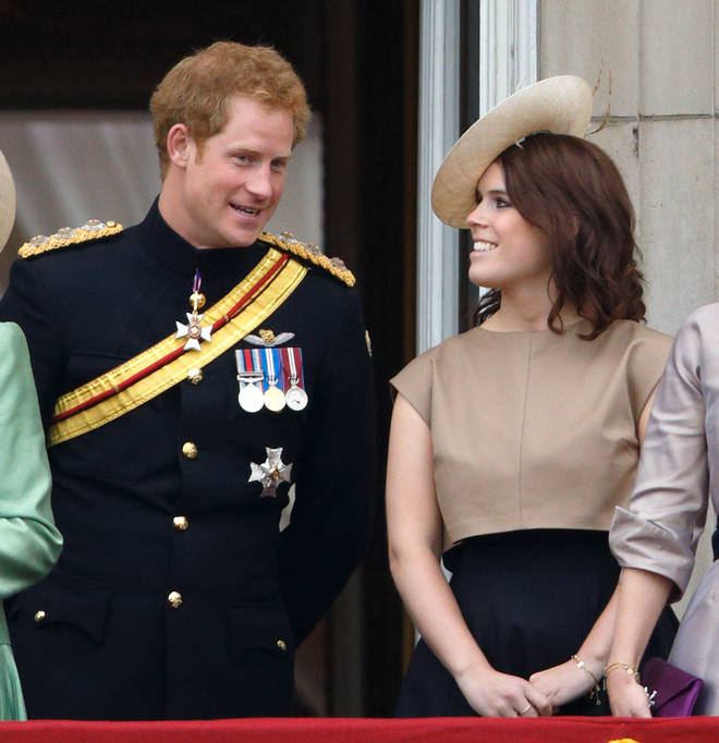 Princess Eugenie congratulated her cousin on the birth of the baby girl
