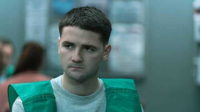 Paddy Rowan as Daniel McNally in Time