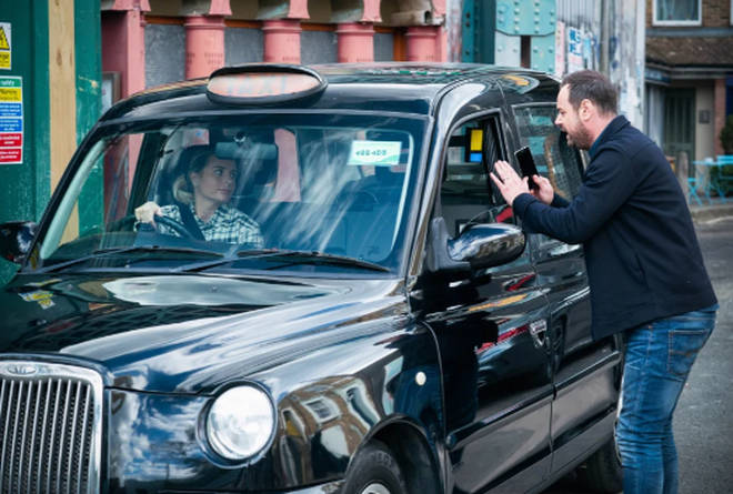 Dani Dyer is playing a cab driver in EastEnders