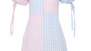 Holly Willoughby is wearing a dress by Olivia Rose