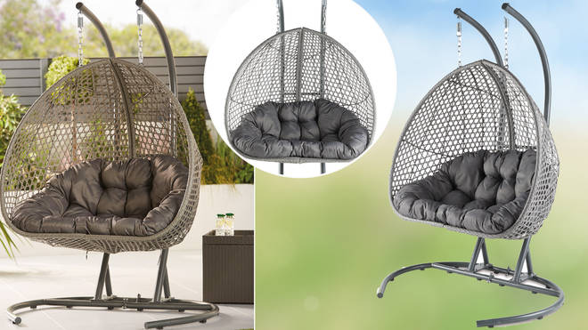 You can soon buy a double hanging egg chair