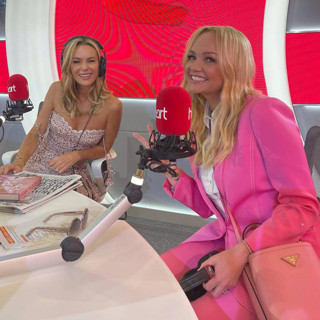 Emma Bunton and Amanda Holden had a good chat about parenting advice on the show