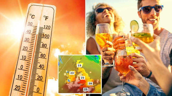 The UK is expected to enjoy at four-day heatwave