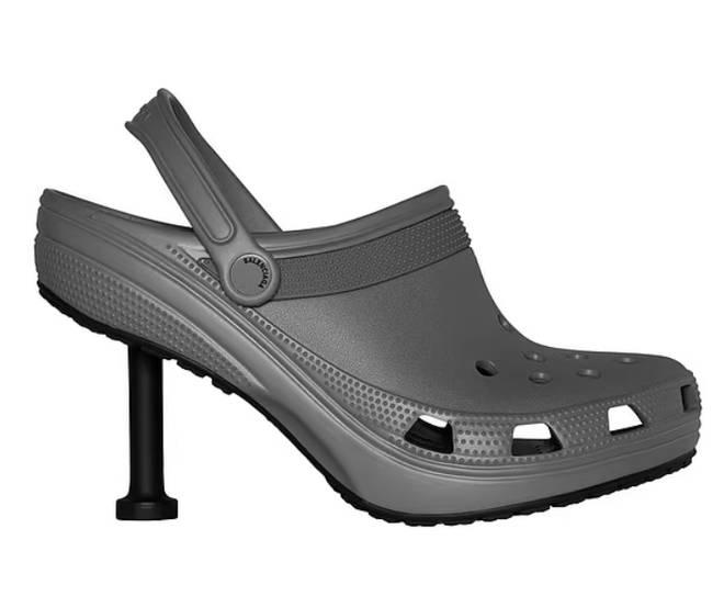 Balenciaga has teamed up with Crocs to create a pair of stilettos