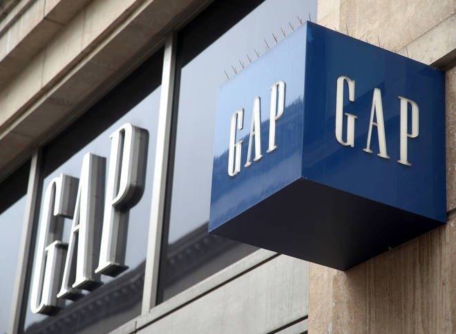 Gap will be closing 19 stores in the UK