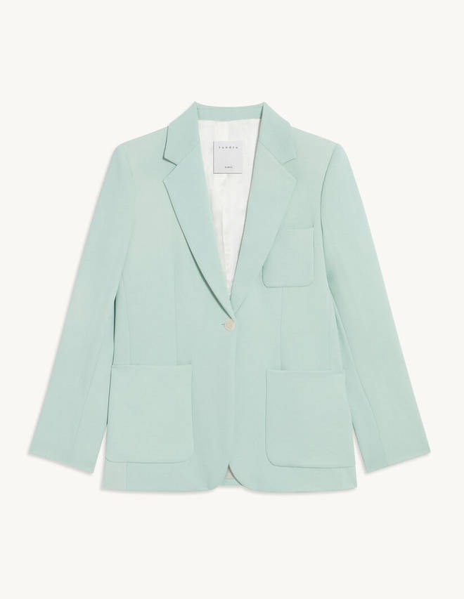 Holly Willoughby's blazer is from Sandro Paris
