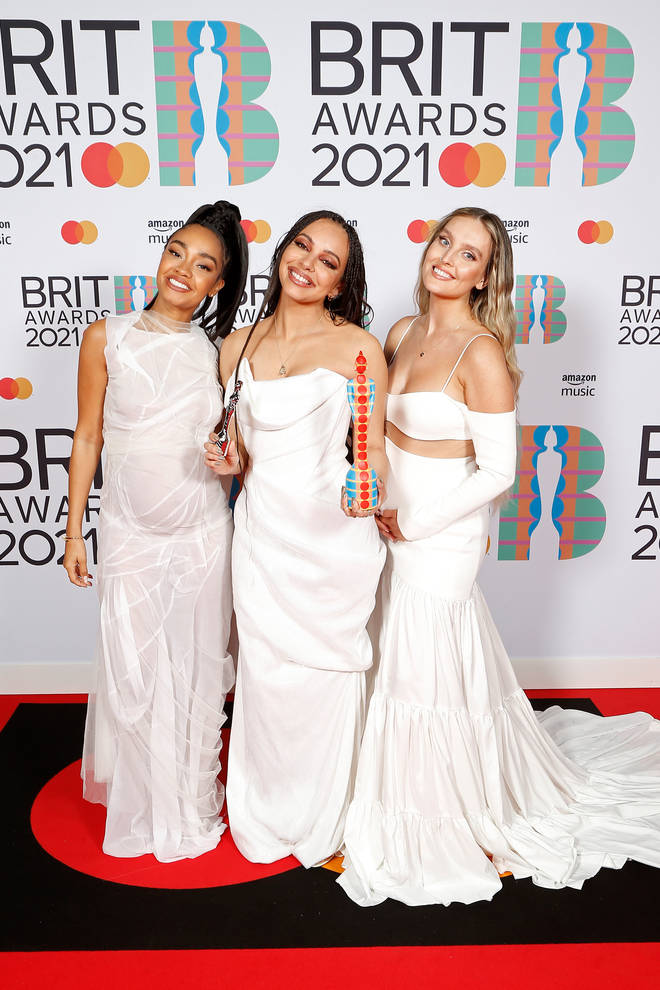 Perrie and Leigh-Anne debuted their baby bumps on the red carpet