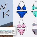 These bikinis, aimed at 9-15 year-old girls, have been hit with backlash over the 'padding' in the cups