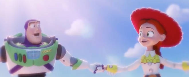 Buzz and Jessie in the new Toy Story 4 trailer