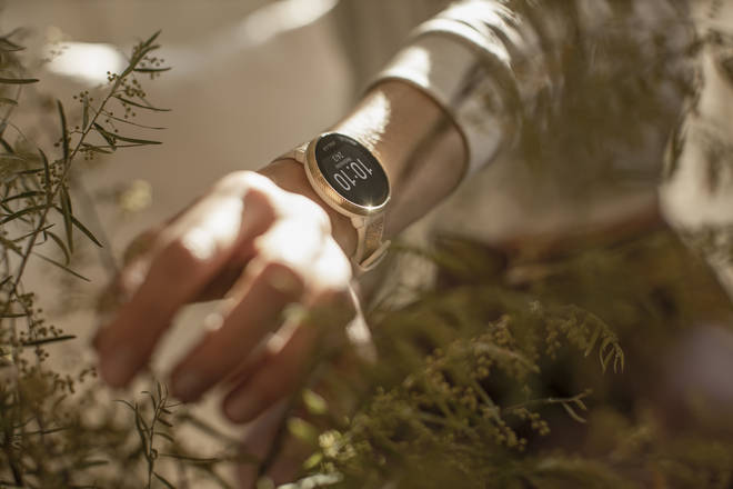 The Polar Ignite watch can be used to measure sleep patterns