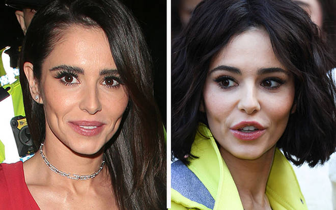 Cheryl - pictured left on October 22 - looked different on November 9 (right)