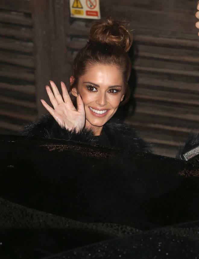 Cheryl pictured in December 2015