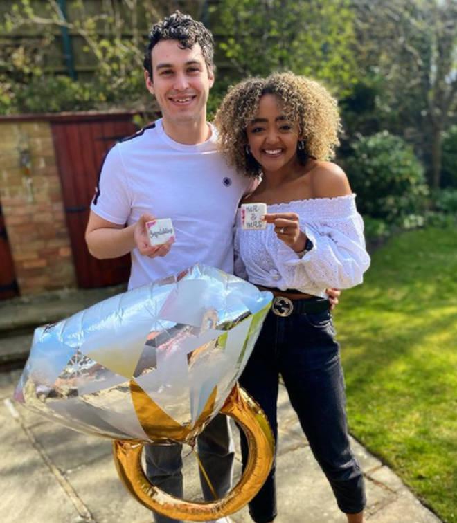 Alexandra Mardell is engaged to her boyfriend Joe Parker