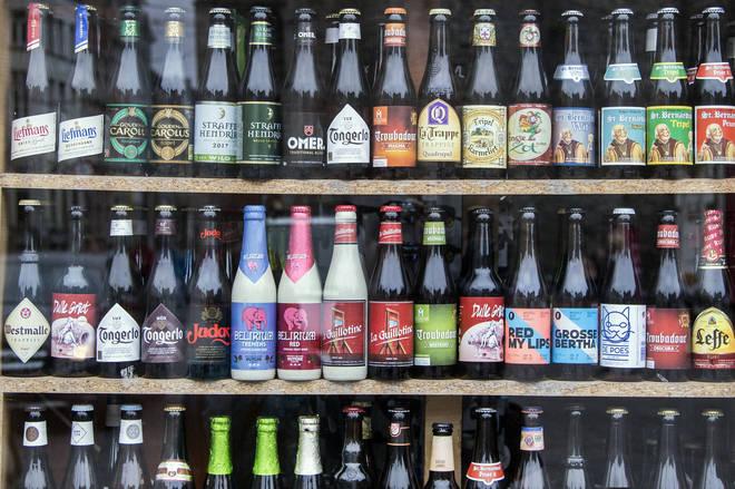 Belgian beers look as interesting and exciting as they taste
