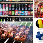Beers, kebabs and beetroot salad - welcome to the tastes of Group D